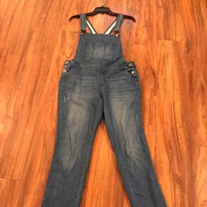 Mossimo Denim Overalls Size Small